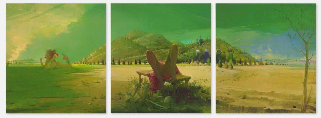 Triptych | Lisa Yuskavage